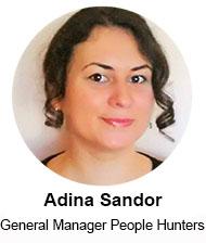 Adina Sandor (General Manager People Hunters) – speaker Femei de cariera, 24 noiembrie 2015