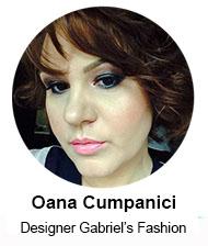 Oana Cumpanici (Fashion Designer Gabriel's Fashion) – speaker Femei de cariera, 24 noiembrie 2015