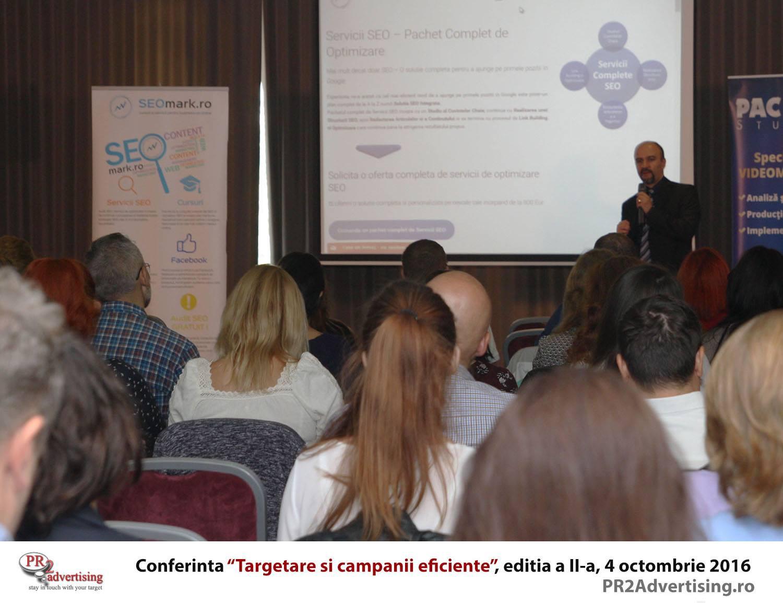 Conferinta Targetare si campanii eficiente - editia II - VIDEO (discursuri si testimoniale)