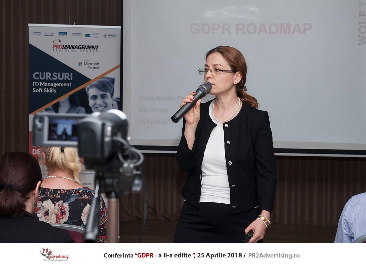 Ce spun specialistii despre implementarea normelor GDPR, amenzi, DPO si cum influenteaza publicitatea online. Vezi ce au discutat specialistii prezenti ca speakeri la a doua editie a conferintei GDPR, organizate de PR2Advertising.ro