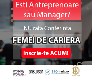 Speaker Femei de cariera – Despre antreprenoriat si succes in afaceri: Roxana Domnica (Fondator MORE Networking)