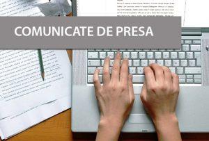 comunicate de presa online