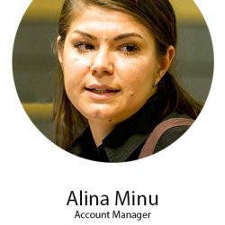 Alina Minu, Acount Manager pastel, speaker la conferinta Targetare si Campanii Eficiente, din 8 noiembrie 2018