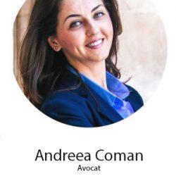 Andreea Coman, avocat - noile norme GDPR in afaceri si promovare (speaker la conferinta Targetare si Campanii Eficiente)