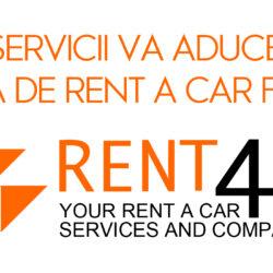 serviciile aduse de rent-4u pe piata de rent a car